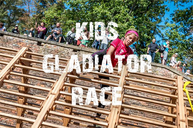 Kids Gladiator Race / RUN OSTRAVA